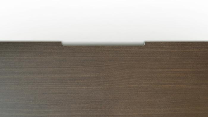 ローボード140cm[グラッディ]ダークブラウン画像10