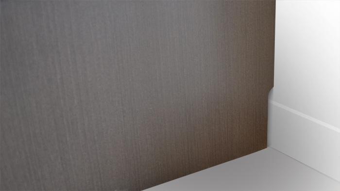 ローボード「グラッディー」巾木カット