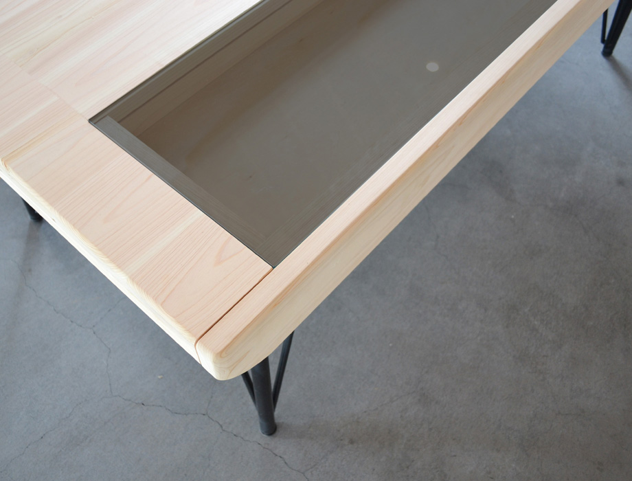 ヒノキローテーブルARCAイメージ3