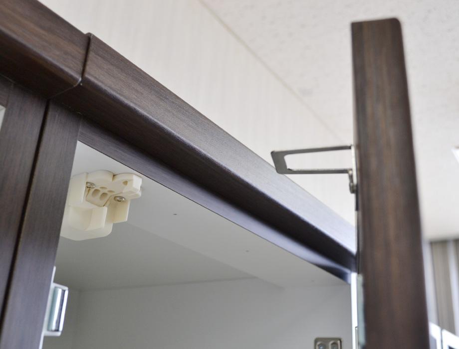 (アルム2)スリム食器棚幅40cm耐震ラッチ