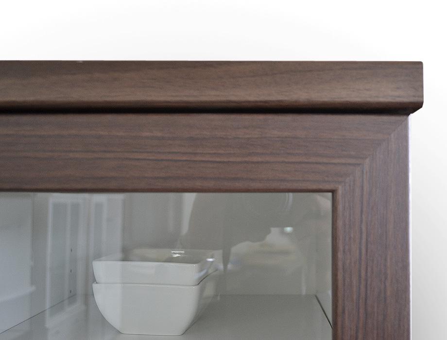 (アルム2)スリム食器棚幅40cm表面材