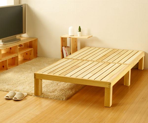 国産 桐のすのこベッド・セミダブルイメージ画像2
