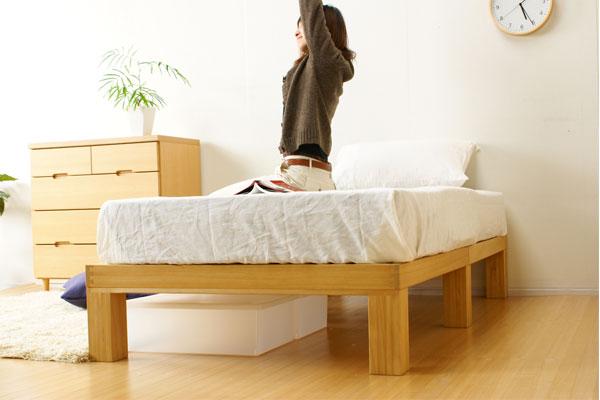 国産 桐のすのこベッド・セミダブルイメージ画像7