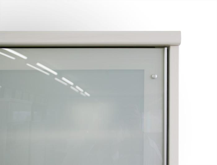 食器棚クラウド2、ミストガラス