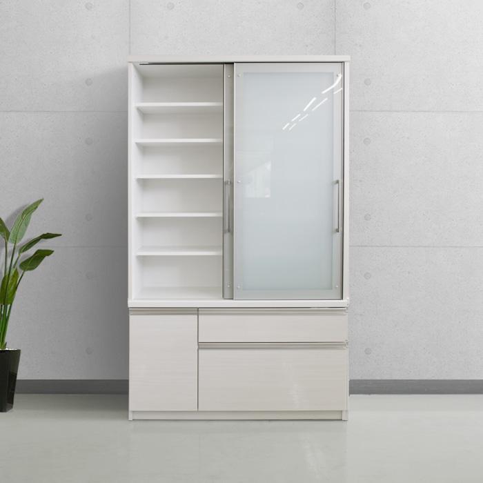 食器棚クラウド2、正面オープンイメージ