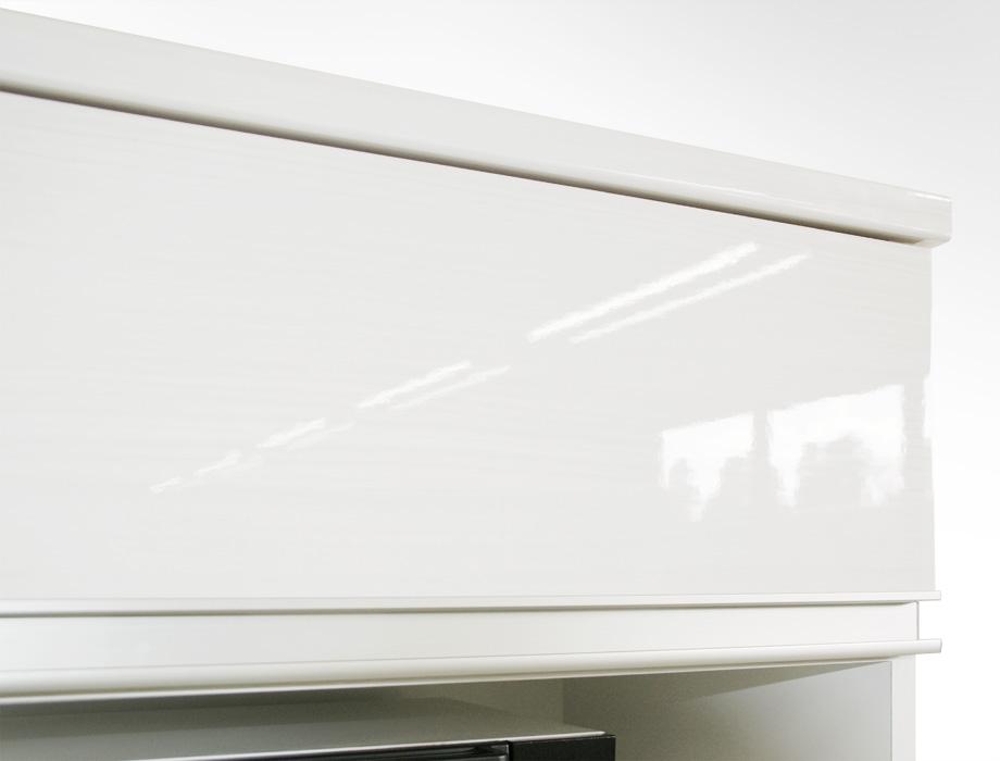 (クラウド2)レンジ台幅70cmホワイト表面1