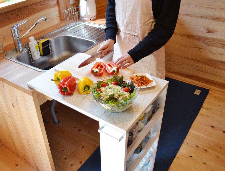 キッチンバタフライカウンター COOKING ASSISTANTイメージ5