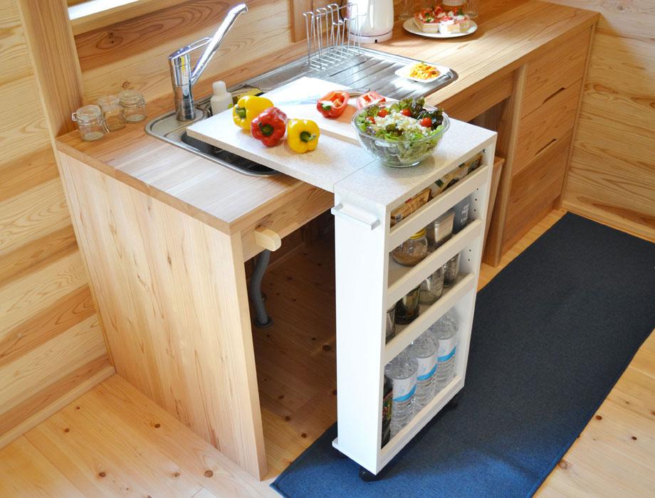 キッチンバタフライカウンター COOKING ASSISTANTイメージ16