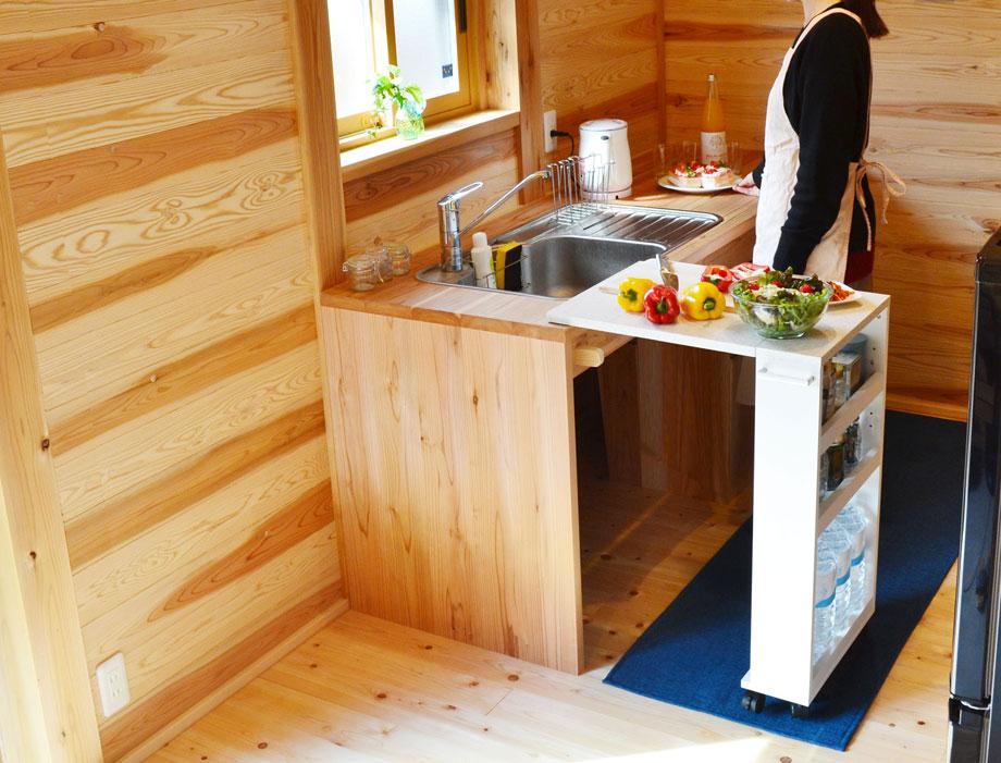 キッチンバタフライカウンター COOKING ASSISTANTイメージ3
