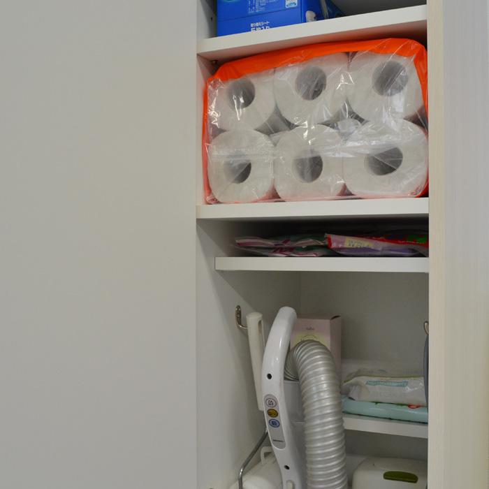 掃除機収納ラック、棚1