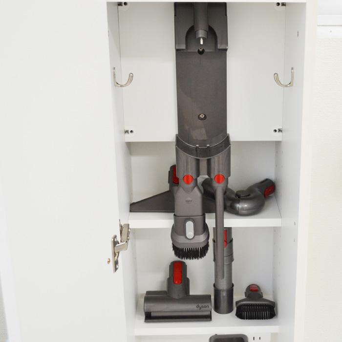 掃除機収納ラック、スティッククリーナーハンガー用ボード2