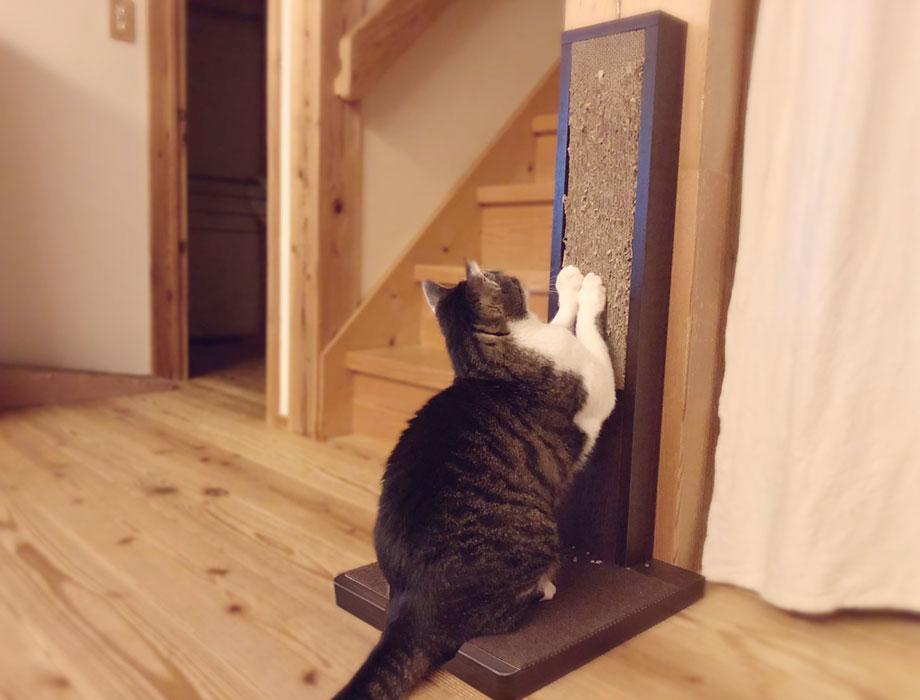 (ココデネ!)猫の爪とぎタワーイメージ2