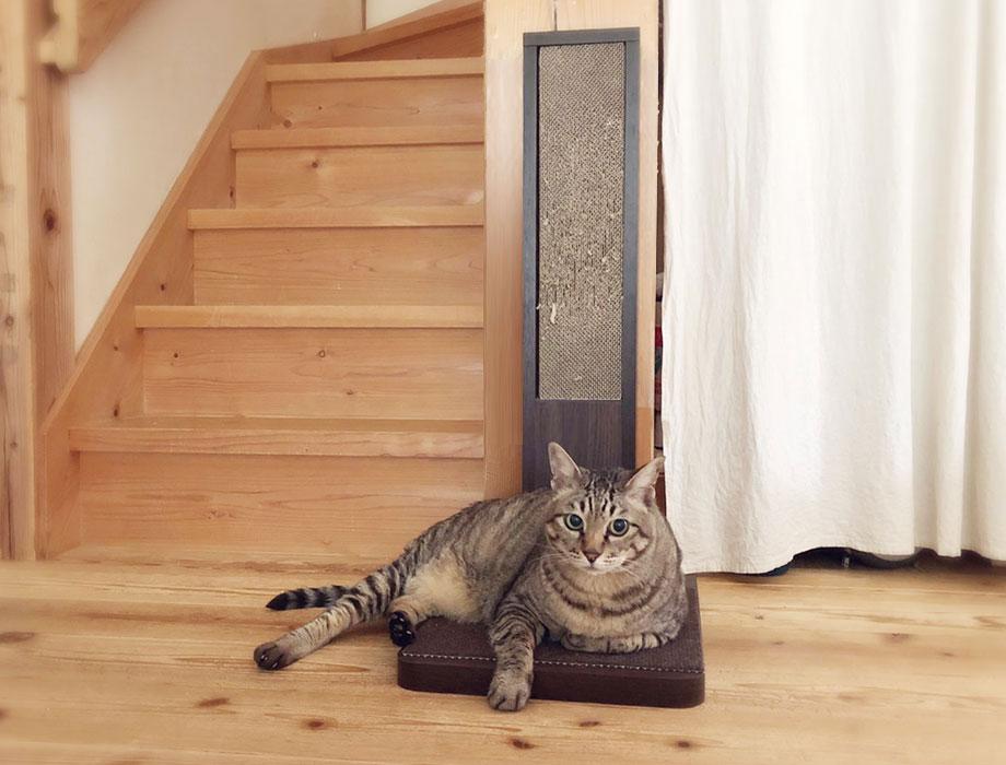 (ココデネ!)猫の爪とぎタワーイメージイメージ3