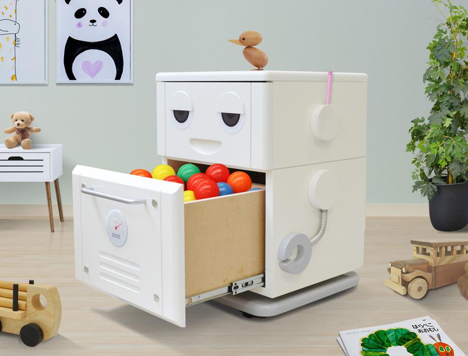COROBOレトロなロボット型チェスト商品イメージ3