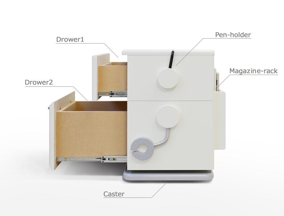 COROBOレトロなロボット型チェスト商品イメージ5