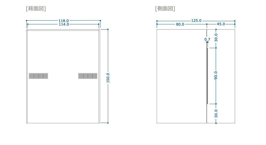 COZYROOM個室デスクサイズ1