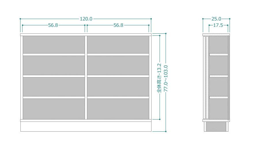 CTRUK-S80-25-77103サイズ