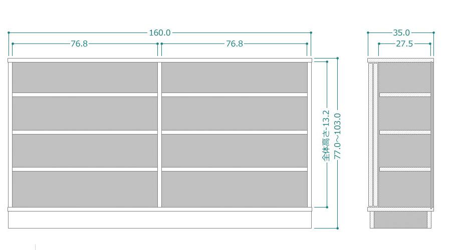 CTRUK-SG80-25-77103サイズ