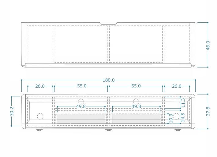 GITA(ジータ)ローボードサイズ1