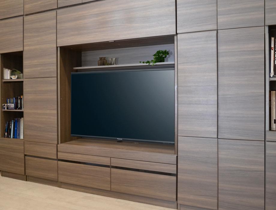 グラナー壁面収納家具壁掛けテレビボード画像2