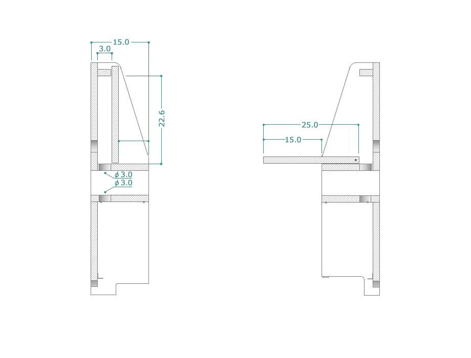 ハイアットテレビボード商品サイズ詳細2