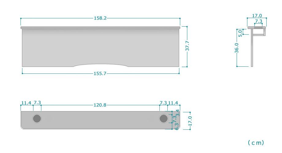 ハイアットDX商品サイズ詳細