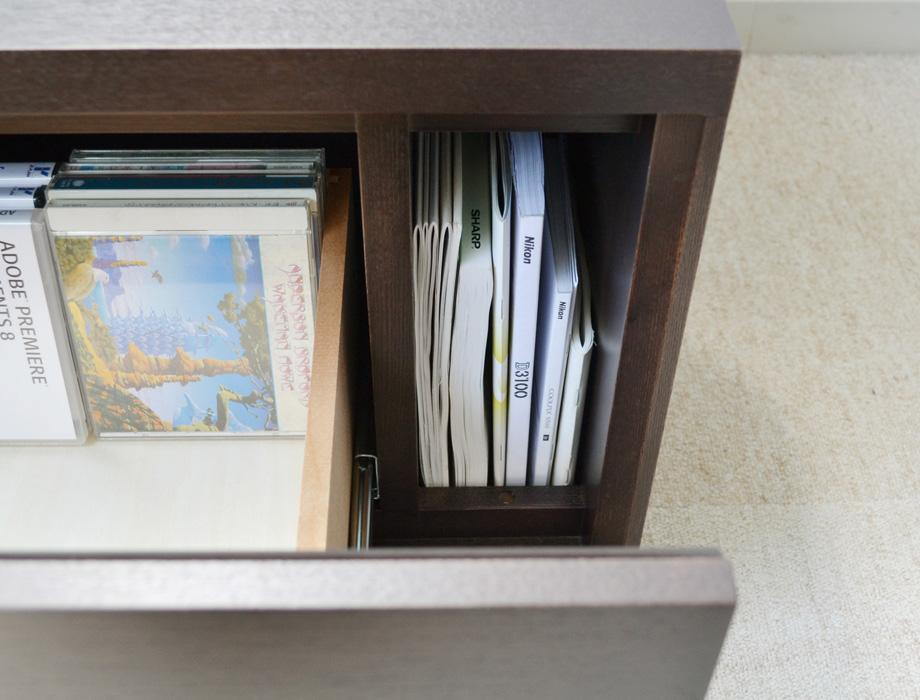 KODO(コドウ)コーナーテレビボード幅120cm・ダークブラウンイメージ14