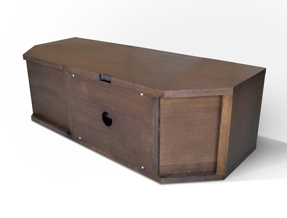 KODO(コドウ)コーナーテレビボード幅120cm・ダークブラウンイメージ16