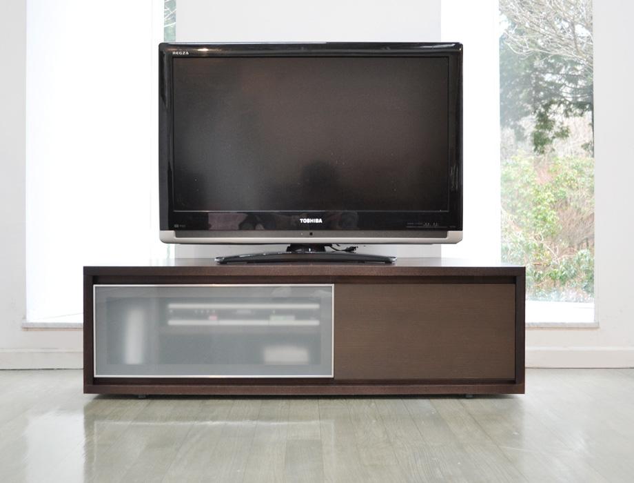 KODO(コドウ)コーナーテレビボード幅120cm・ダークブラウンイメージ2