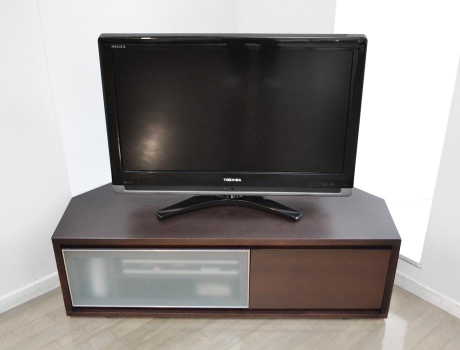 KODO(コドウ)コーナーテレビボード幅120cm・ダークブラウンイメージ4
