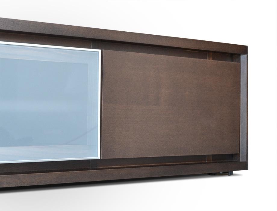 KODO(コドウ)コーナーテレビボード幅120cm・ダークブラウンイメージ7