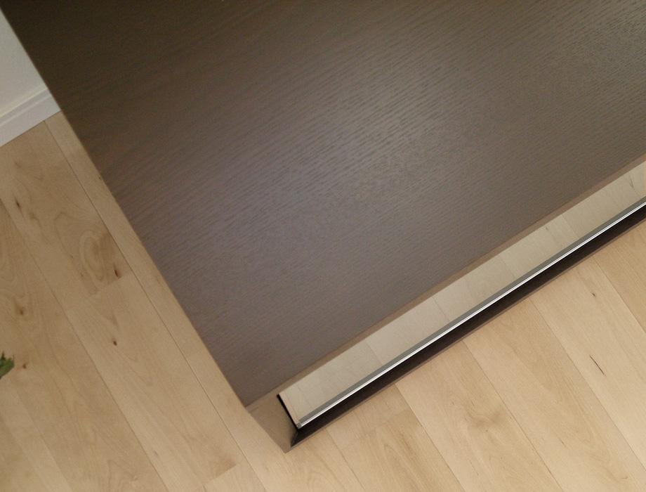 KODO(コドウ)コーナーテレビボード幅120cm・ダークブラウンイメージ8