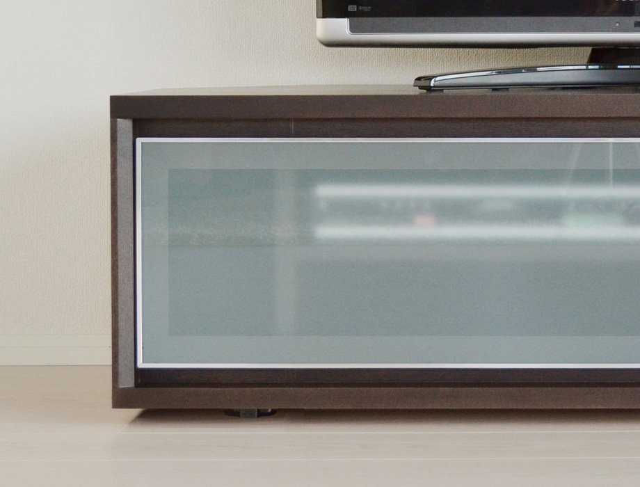 KODO(コドウ)コーナーテレビボード幅120cm・ダークブラウンイメージ9