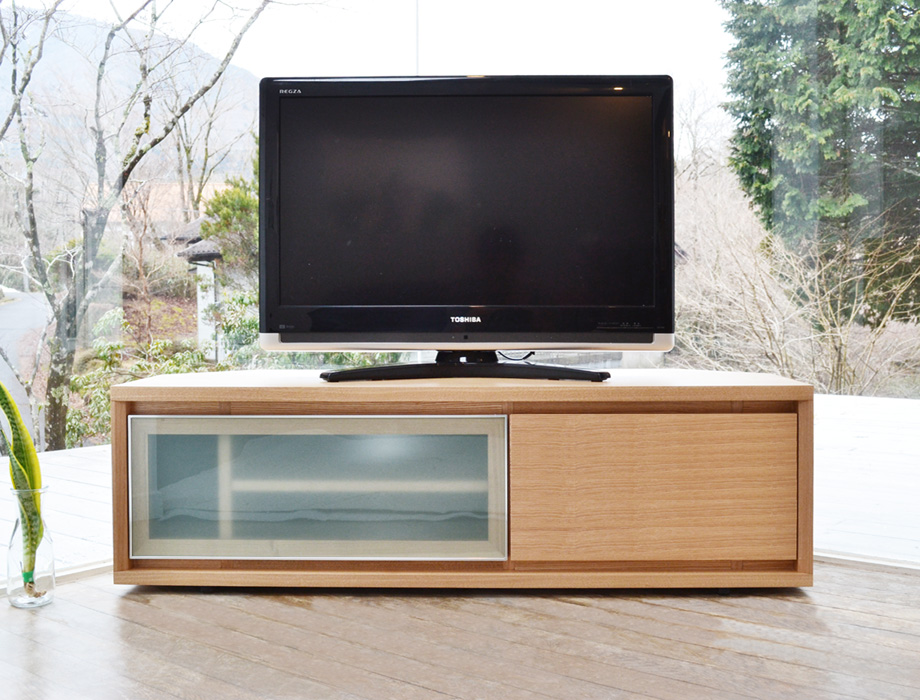 KODO(コドウ)コーナーテレビボード幅120cm・ナチュラルイメージ2