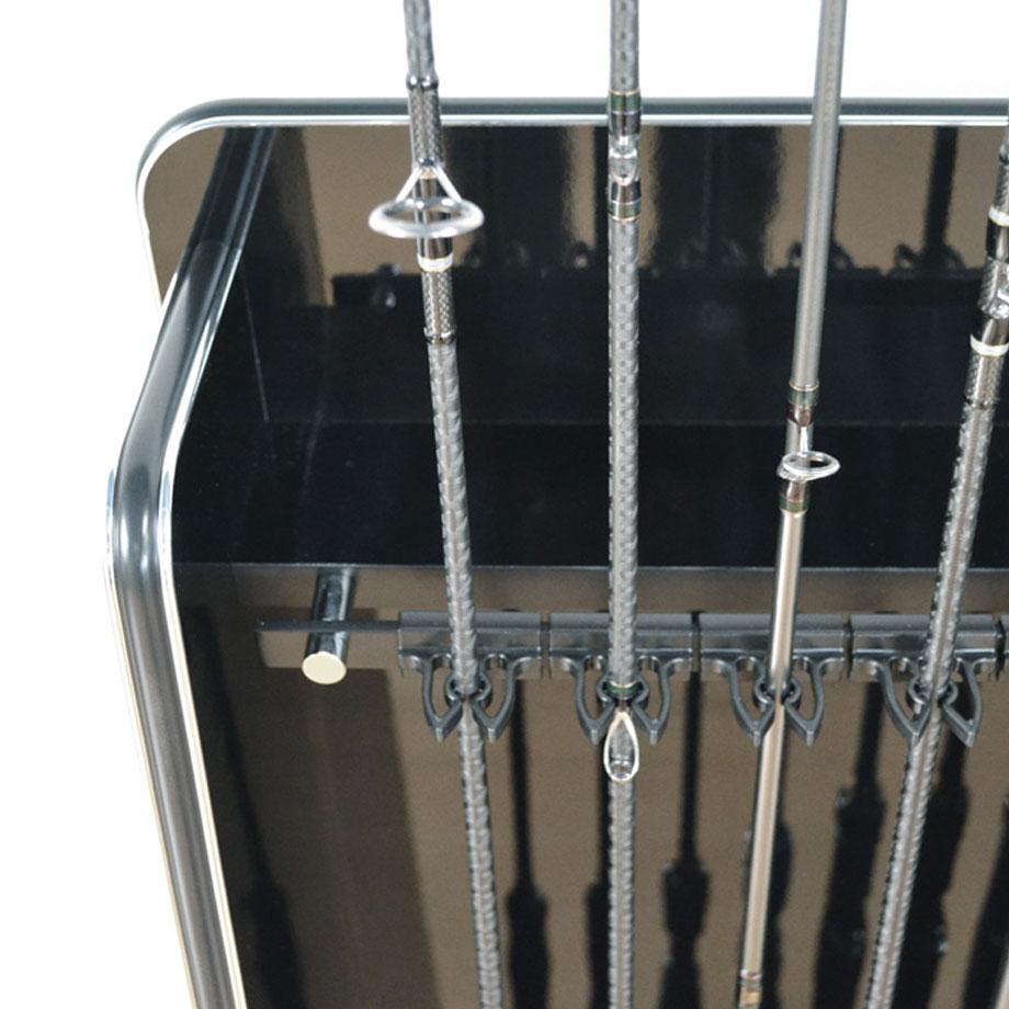 ZANE(ゼイン)ロッドスタンド・7本収納タイプ・ブラックウッドイメージ画像3